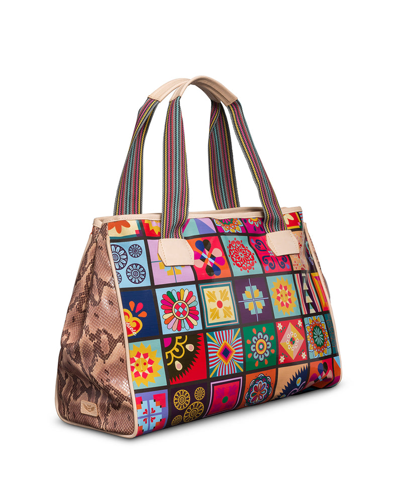 Allie Grande Tote by Consuela, side