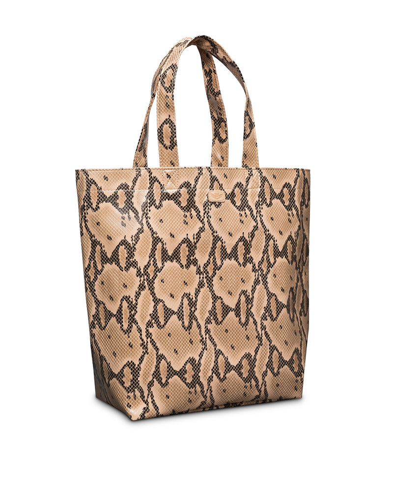 Margot Basic Bag in snake print by Consuela, side view