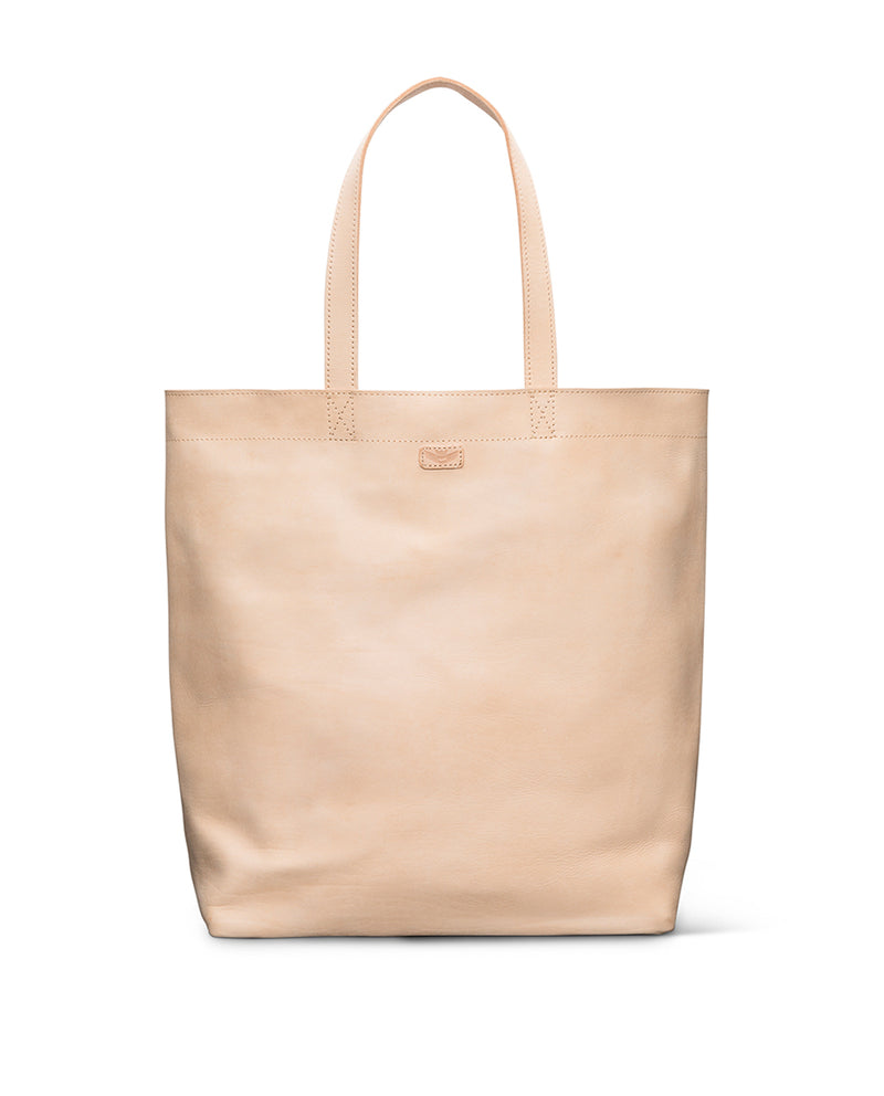 Diego Basic Bag in natural leather by Consuela, front view