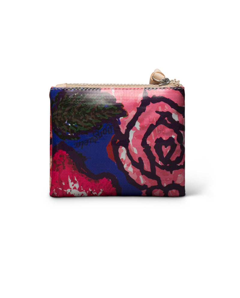 Royal Teeny Slim Wallet in ConsuelaCloth™ by Consuela, back view
