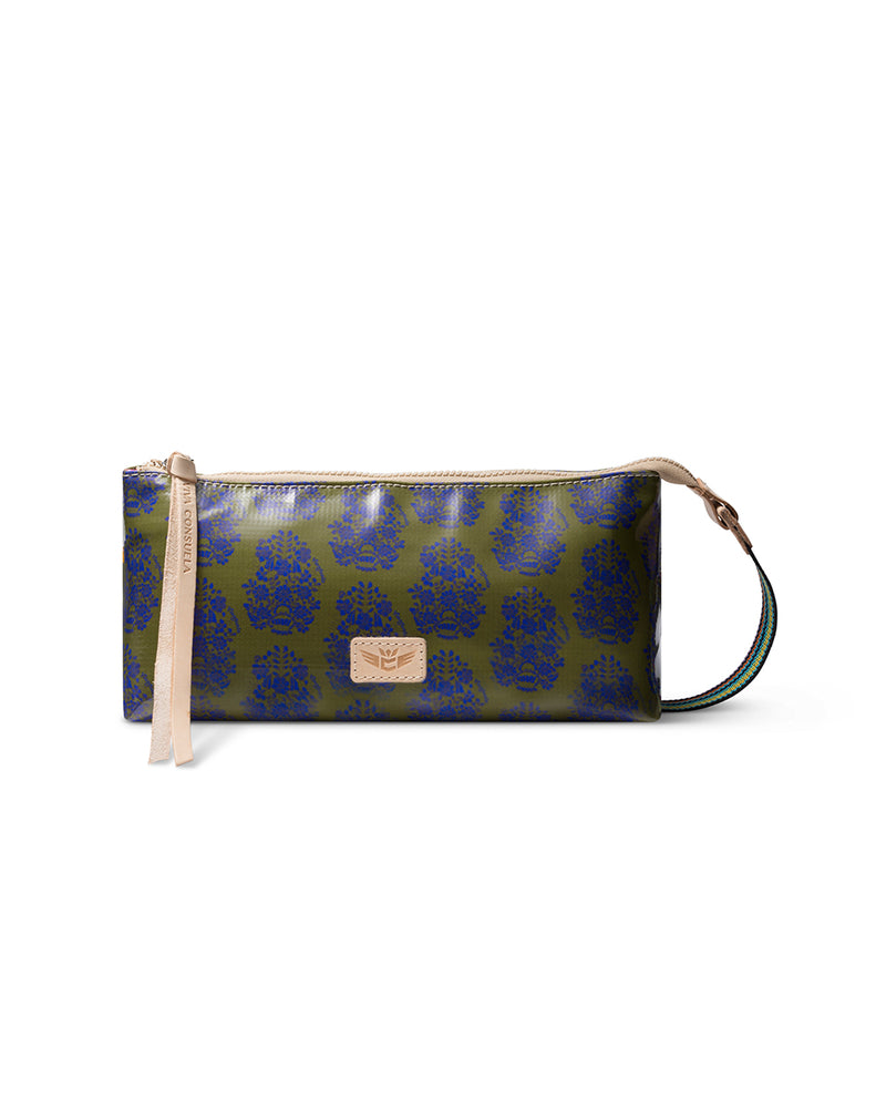 Olive tool bag in ConsuelaCloth™ by Consuela, front view