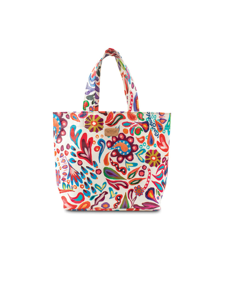 White Swirly Mini Bag