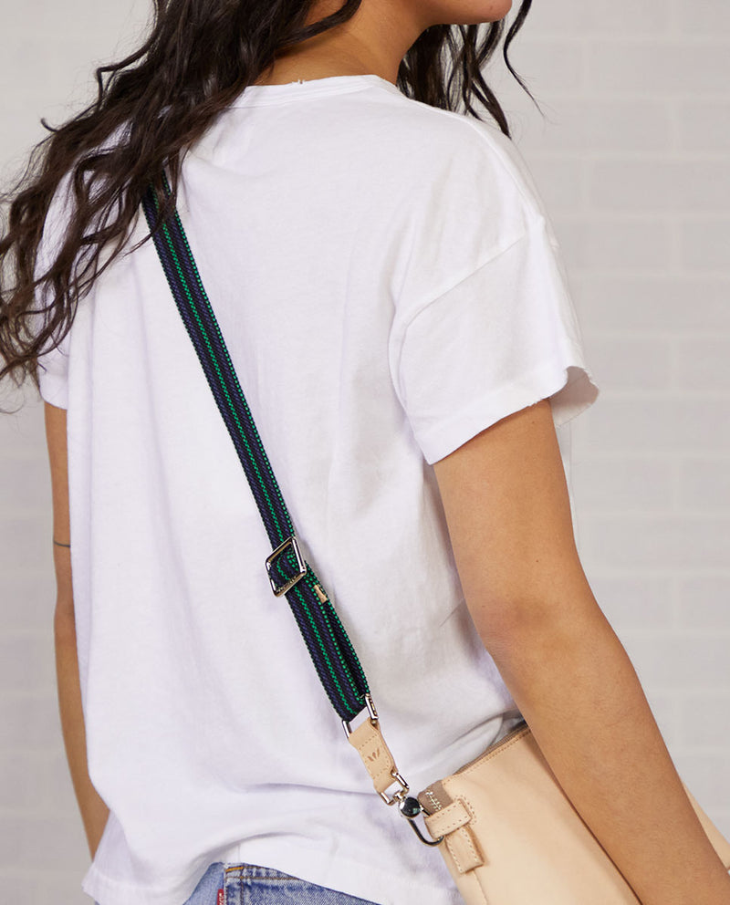 Wintergreen Slim Webbing Crossbody Strap