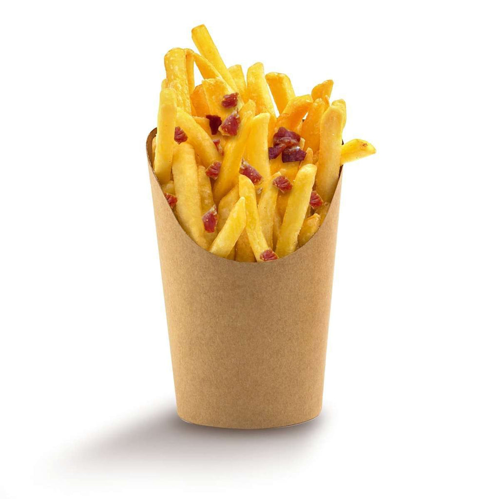 Frites bacon