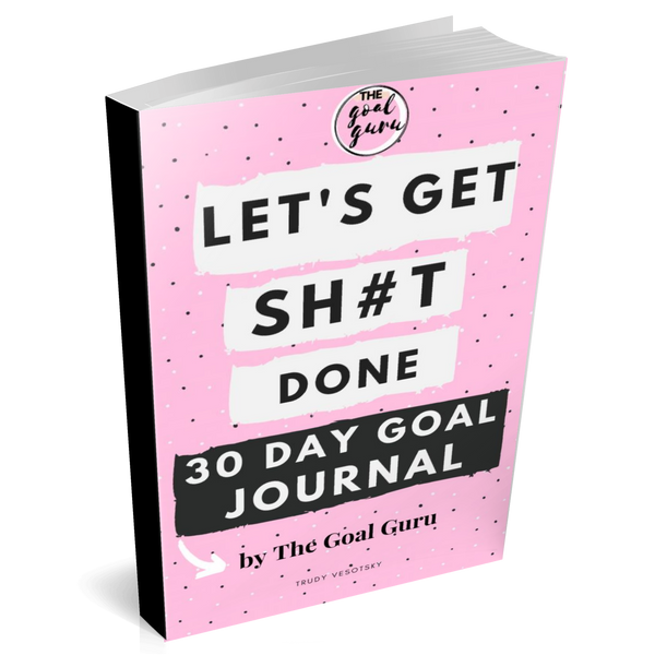 Let's Get Sh#t Done 30 Day Goal E-Journal