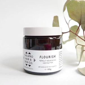 'Flourish' Totally Nourishing Hair Butter-The Afro Hair & Skin Co.-Yard + Parish