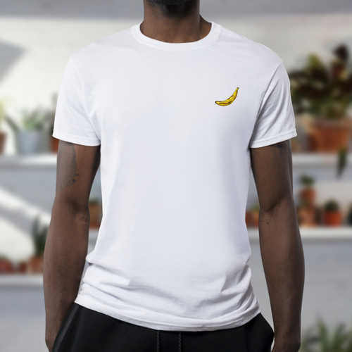White Plantain Tee (Unisex)-Yard + Parish-Yard + Parish