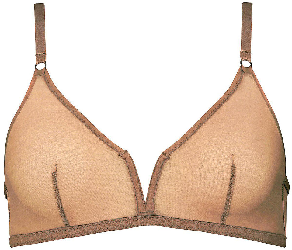 Amani | Soft-V Wire Bra-Nudes-Yard + Parish