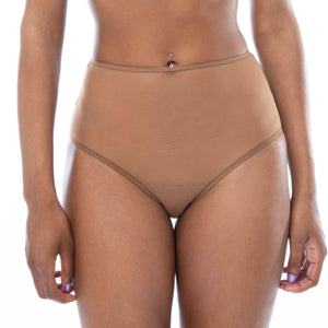 'Amani' High Waisted Panty-Ownbrown-Yard + Parish