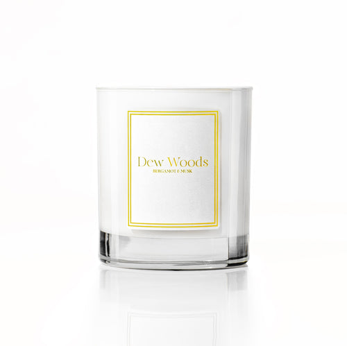 Bergamot + Musk - Scented Candle-Dew Woods-Yard + Parish