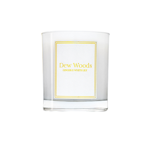 Ginger + White Lily - Scented Candle