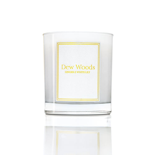 Ginger + White Lily - Scented Candle-Dew Woods-Yard + Parish