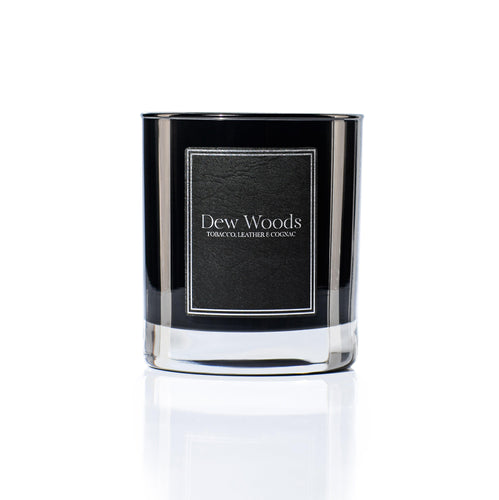 Tobacco, Leather + Cognac - Scented Candle-Dew Woods-Yard + Parish