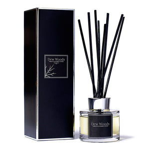 Tobacco, Leather + Cognac - Reed Diffuser-Dew Woods-Yard + Parish