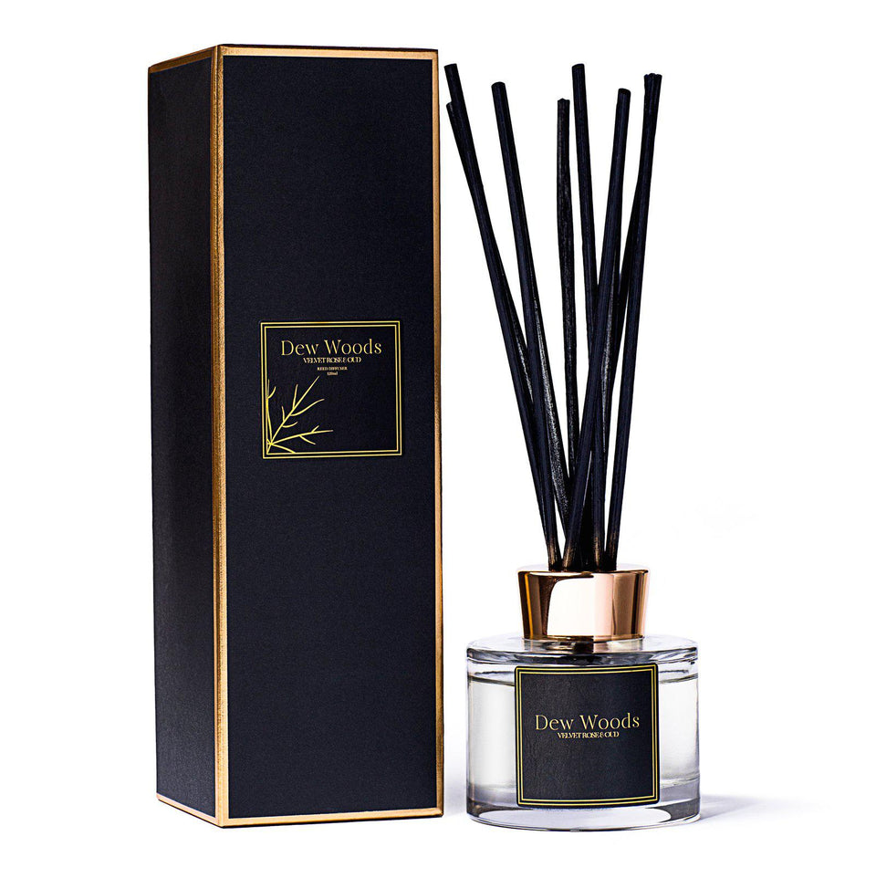 Reed Diffuser | Velvet Rose & Oud-Home Fragrance-Yard + Parish
