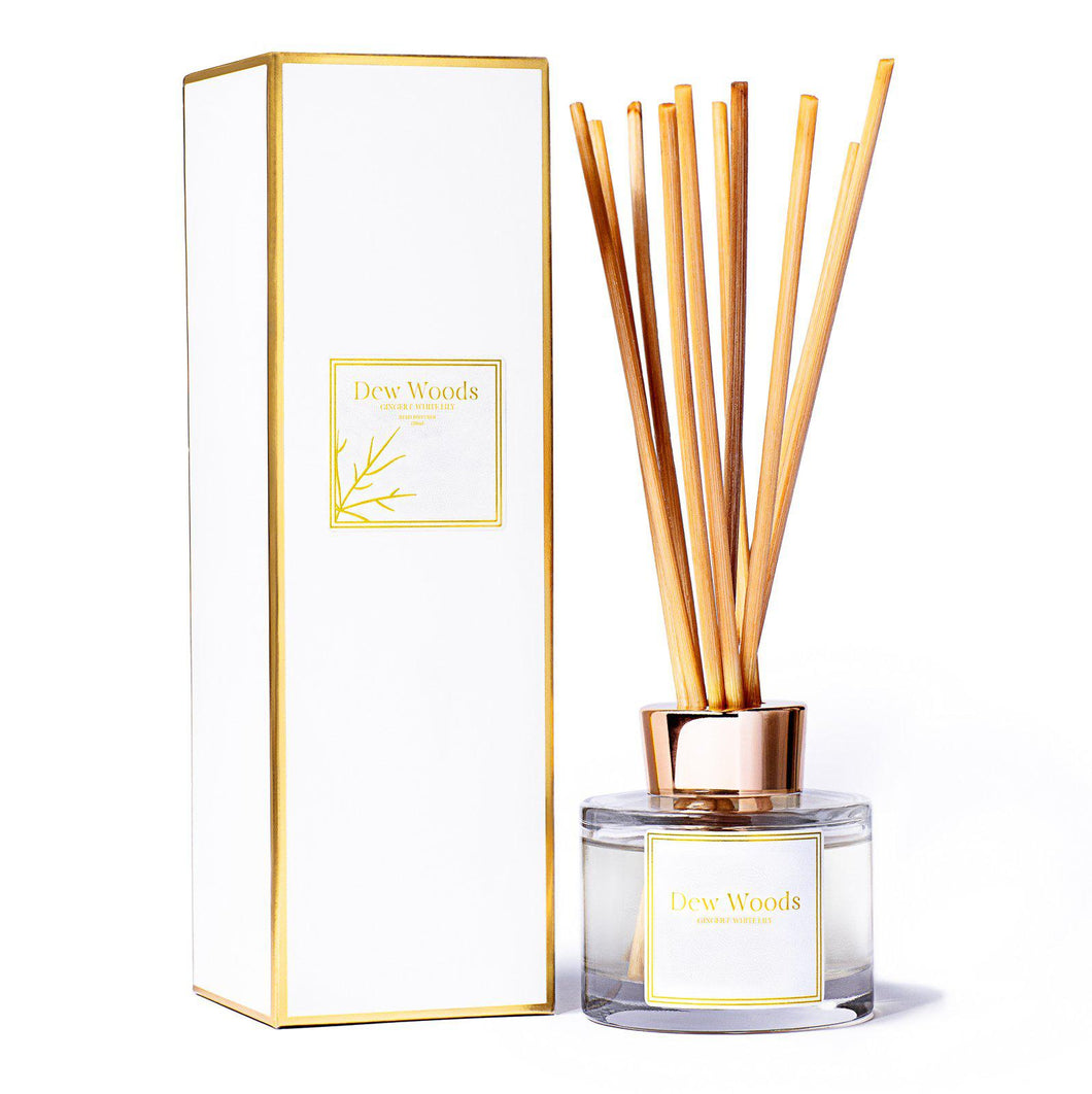 Ginger + White Lily - Reed Diffuser-Dew Woods-Yard + Parish