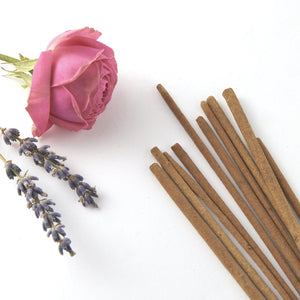 Lavender + Rose Incense Sticks-TALOU-Yard + Parish
