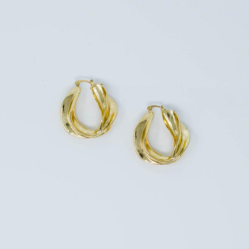 'Lilo' Hoop Earrings-Anna Philip London-Yard + Parish
