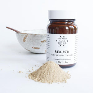 Rebirth - Clay Face Mask-The Afro Hair & Skin Co.-Yard + Parish