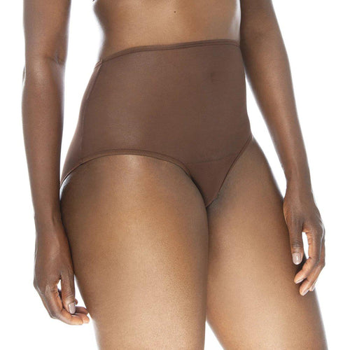 'Yemoya' High Waisted Panty-Ownbrown-Yard + Parish