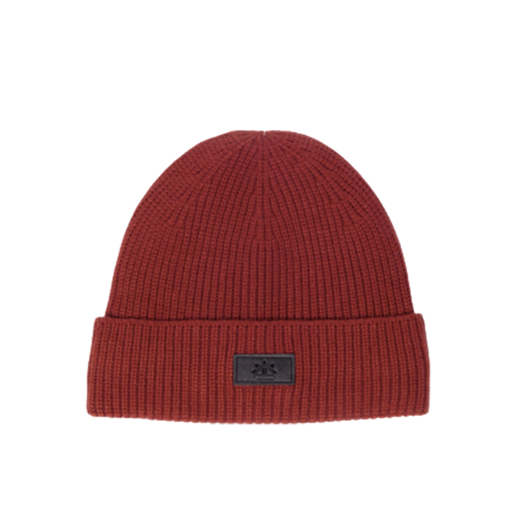 Satin-Lined Beanie | Burnt Orange-Black Sunrise-Yard + Parish