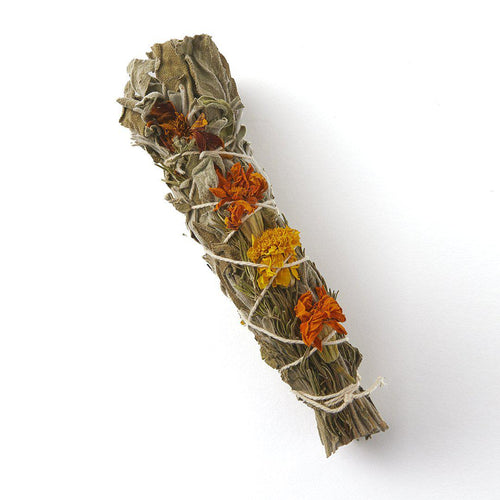 Energising Cleanse Sage Smudge Stick-TALOU-Yard + Parish