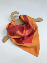 Load image into Gallery viewer, Silk Neck Scarf - Sunset-Established 25-Yard + Parish
