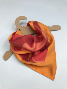 Silk Neck Scarf - Sunset-Established 25-Yard + Parish