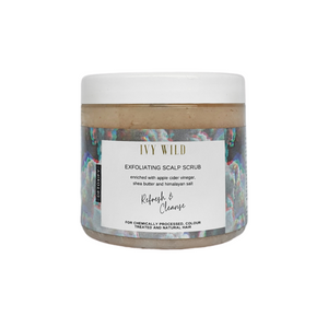 Exfoliating Scalp Scrub-Ivy Wild-Yard + Parish