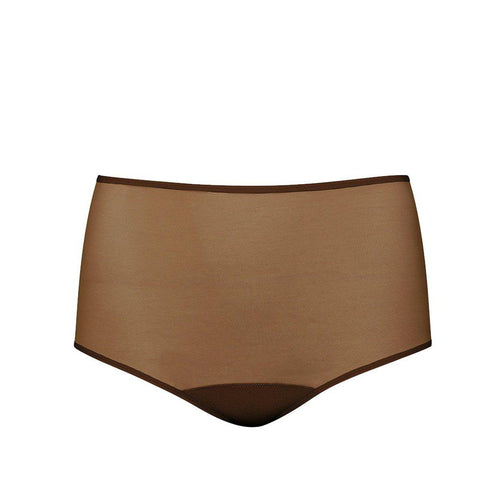 'Kimya' High Waisted Panty-Ownbrown-Yard + Parish