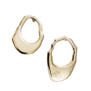 'Om' Earring-Relic London-Yard + Parish
