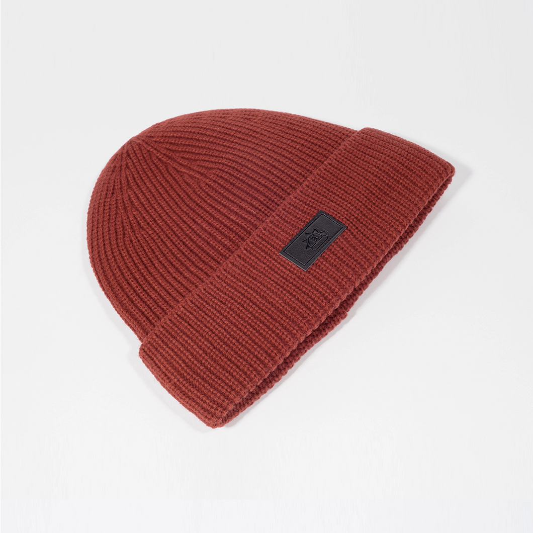 Satin-Lined Beanie