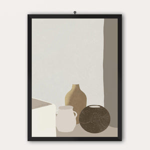 'Peaceful, Still Life' Print-Line & Honey-Yard + Parish