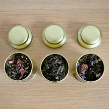 Load image into Gallery viewer, 'And God Made Woman' | Luxury Green Tea Trio-Thés Lac Rose-Yard + Parish