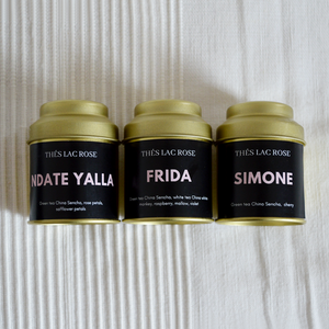 'And God Made Woman' | Luxury Green Tea Trio-Thés Lac Rose-Yard + Parish