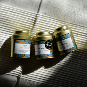 'Paris - London - Dakar' | Luxury Herbal Tea Trio-Thés Lac Rose-Yard + Parish