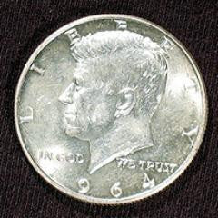 Expanded Shell - 1964 Kennedy Half