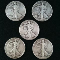 Deans Set - Walking Liberty Half