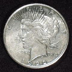 Expanded Shell - Peace Dollar