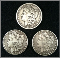 3CMX - Soft Morgan Dollar