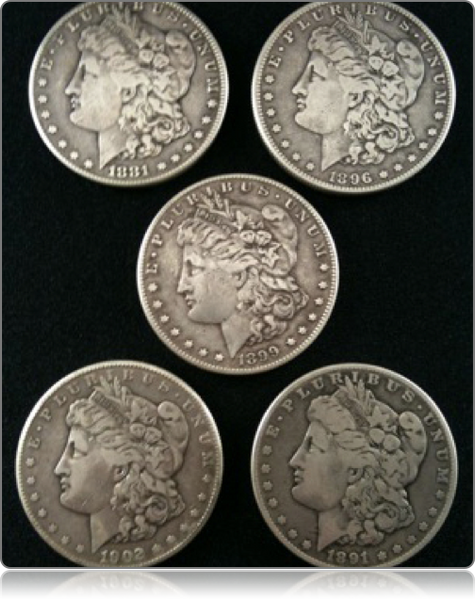 Deans Set - Soft Morgan Dollar
