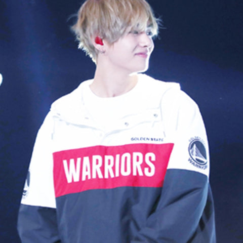 BTS V Warriors Windbreaker