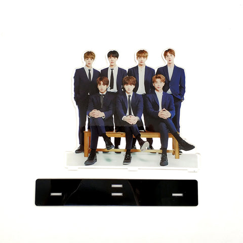 BTS Bangtan Boys Group Acrylic Figure Stand