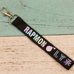 BTS Love Yourself Members Laser Keychain Keyring