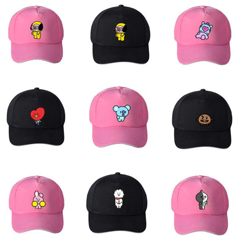BTS x BT21 Adjustable Baseball Cap
