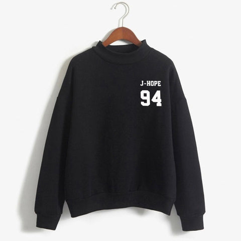 BTS Love Yourself Member Crew Sweater