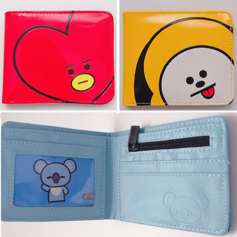 BT21 Character Wallet