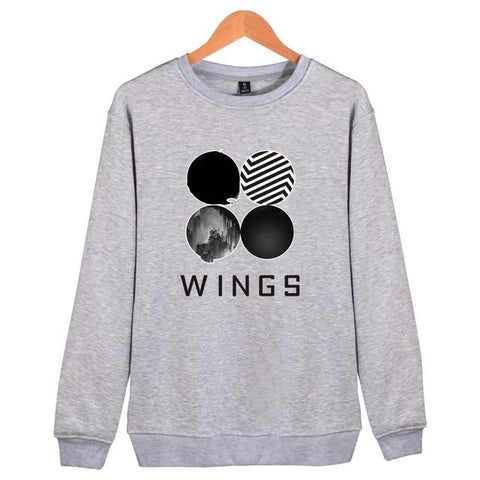 BTS The Wings Album Logo Sweater