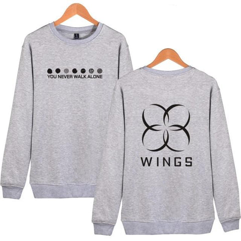BTS The Wings Album You Never Walk Alone Sweater