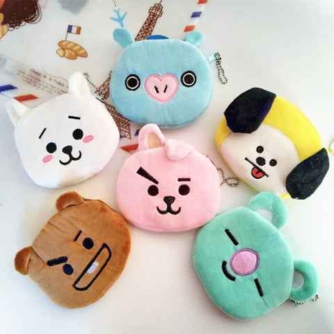 BT21 Small Purse Coin Bag